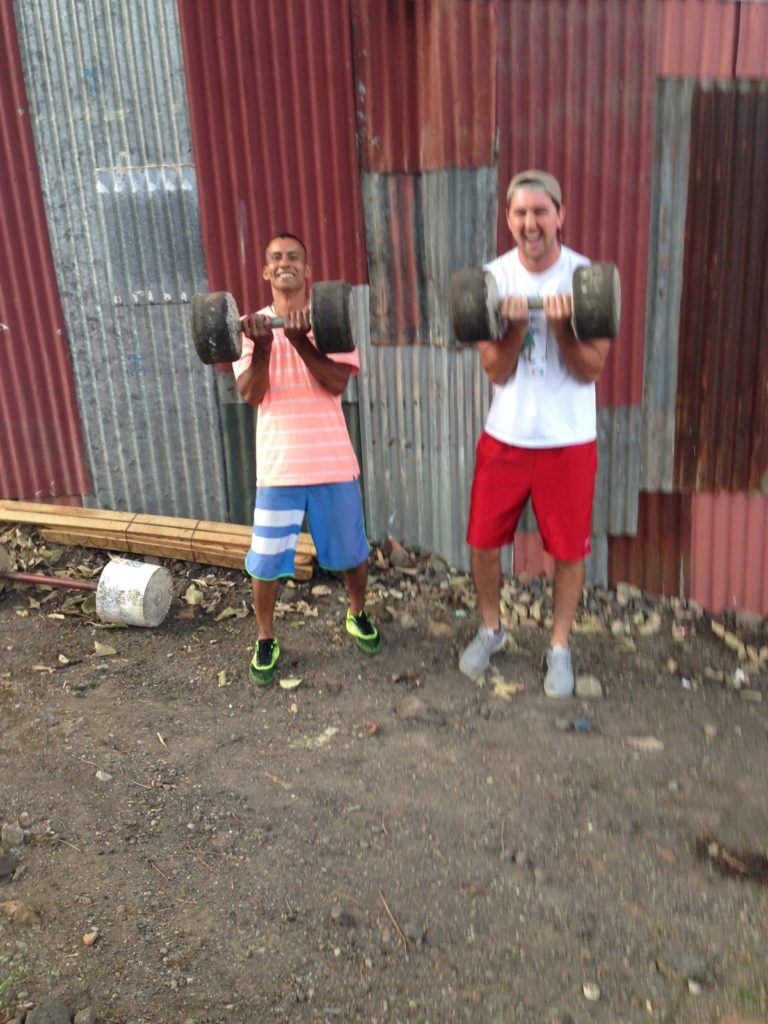 weightlifting Alajuelita style